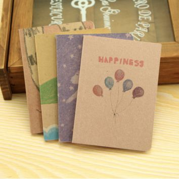 Vintage Happiness Journal Notebook High Quality Stationary Book