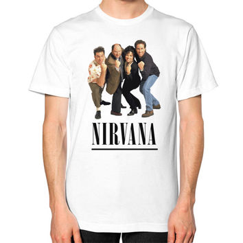 Nirvana Seinfeld Unisex T-Shirt (on man)