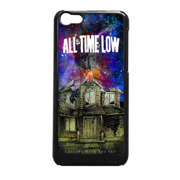 Pierce The Veil Band All Time Low Poster Galaxy Parody iPhone 5c Case