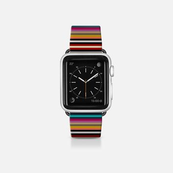 town stripe apple watch band Apple Watch Band (38mm)  by Sharon Turner | Casetify