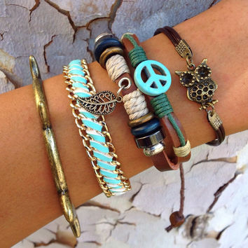 Turquoise Woo Stack