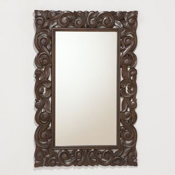 Tegan Carved Mirror - World Market