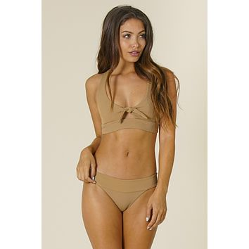 L*Space Swim - Tara Top | Camel