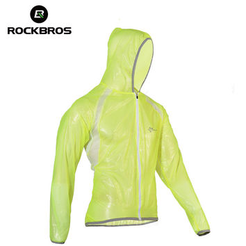 ROCKBROS MTB Cycling Jersey MultiFunction Jacket Rain Waterproof Windproof TPU Raincoat Bike Bicycle Equipment Clothes 3 Colors