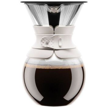 Pour-Over Coffee Maker with Permanent Filter