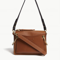CHLOE Roy small suede leather shoulder bag