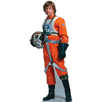 Luke Skywalker Rebel Pilot Cardboard Standup