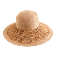 J.Crew Womens Textured Summer Straw Hat
