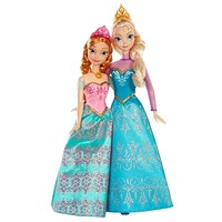 Disney Frozen Royal Sisters Elsa & Anna Doll Set