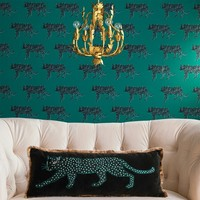 Panther Oversize Lumbar Throw Pillow - Opalhouse™