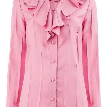 Gucci Rose Knot Blouse - Farfetch
