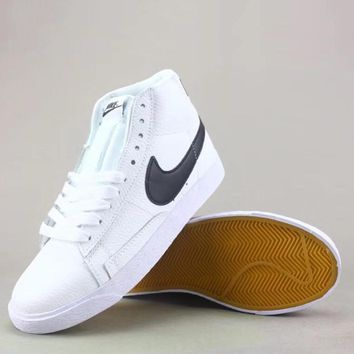 ... finest selection Nike Blazer Mid Fashion Casual High-Top Old Skool  Shoes 6ce30612ed ... 0a5346815236