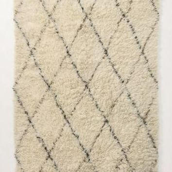Amala Flokati Rug by Anthropologie