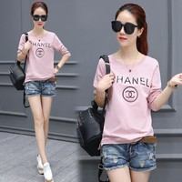 Chanel Casual Scoop Neck Top Sweater Pullover