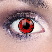 Red Contact Lenses | Twilight Volturi Vampire Contact Lenses