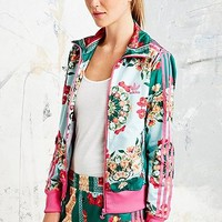 Adidas X The Farm Company Borboflor Jacket in Floral Print - Urban Outfitters