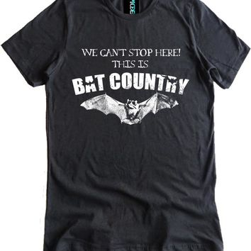 Hunter S. Thompson Bat Country Premium Dual Blend Shirt