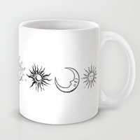 Sun/Moon/Stars Mug by Christine Hsu