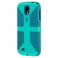 Speck Candyshell Grip Cell Phone Case for Samsung Galaxy S4 - Blue/Green (SPK-A2062)