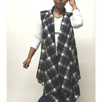 Own it Flannel Vest