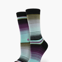 Stance Amiga Everyday Tomboy Athletic Lite Mix & Match Womens Socks Black One Size For Women 25897510001