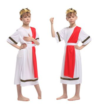 Disfraces Children Halloween Carnival kids Greece Noble Egypt Prince of Rome Cosplay Movie Anime Fantasia Boy Party Costume