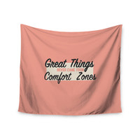 "Juan Paolo ""Great Things"" Digital Vintage Wall Tapestry"