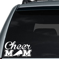Cheer Mom Decal / Cheer Mom Car Decal / Car Decal / Laptop Decal / Laptop Sticker