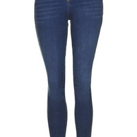TALL MOTO Vintage Leigh Jeans - Mid Stone