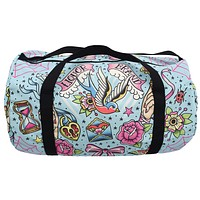 Liquorbrand True Love  Flash Tattoo Sparrow Oversized Duffel Bag