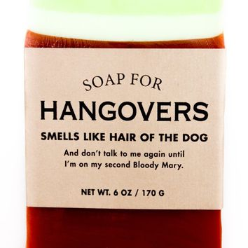 Hangovers Bloody Mary Scented Soap - Smells Like Hair of the Dog