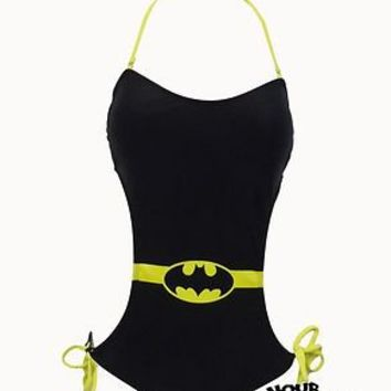 Batgirl Batman Symbol Monokini DC Comics Licensed S-XL New