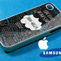 The Fault in Our Stars quote iphone 4/4s case, iphone 5/5s/5c case, samsung s3 i 9300/s4 i 9500 case