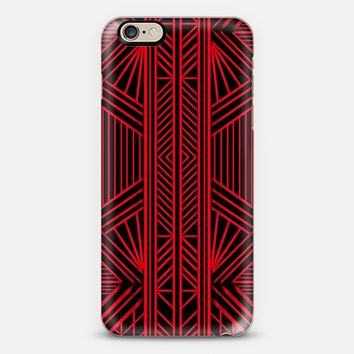 Red Lines iPhone 6s case by Eleaxart   Casetify