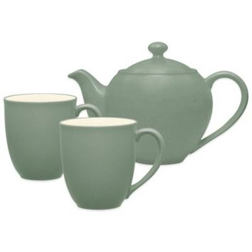 Noritake® Colorwave 3-Piece Tea-for-Two Teapot Set in Green