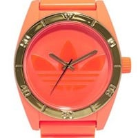 Adidas Santiago Orange Neon Watch at asos.com