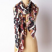 Jewel Dusted Ikat Scarf