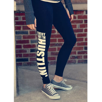 Sports Casual Pants Hot Sale Fitness Workout Leggings [9367167300]