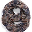 Junior Women's BP. 'Scattered Ditsy' Floral Print Infinity Scarf