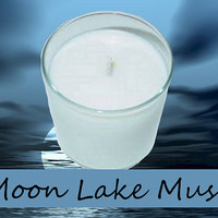 Moon Lake Musk Scented Candle in Tumbler 13 oz
