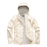 Women's Print Venture Jacket in Vintage White Sparse Triangle Print by The North Face - FINAL SALE