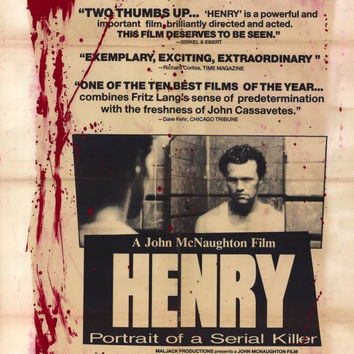 Henry: Portrait of a Serial Killer 11x17 Movie Poster (1990)