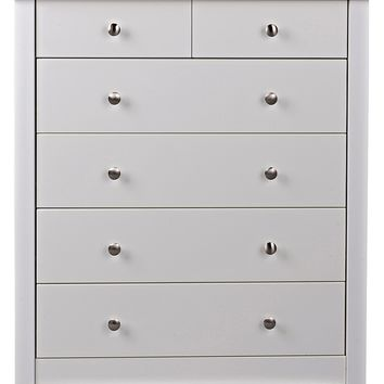 buy osaka 4 2 drawer chest white at from. Black Bedroom Furniture Sets. Home Design Ideas