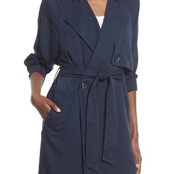 Leith Notch Collar Trench Jacket | Nordstrom