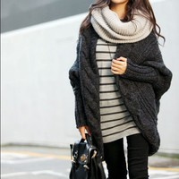 Cuddly Coat in Gray