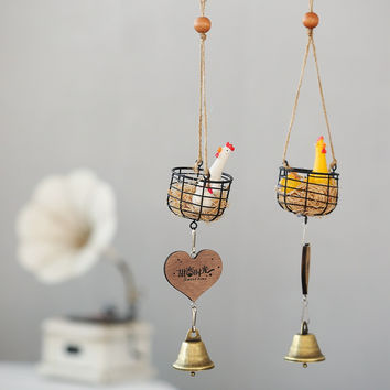 Innovative Resin Wind Bell Cage Gifts Korean Home Decor [6281770374]
