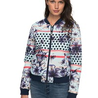 Rock'N Smile Bomber Jacket ERJJK03218 | Roxy