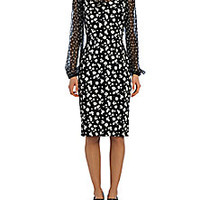 Dolce & Gabbana - Tromp L'oiel Floral Sheath - Saks Fifth Avenue Mobile