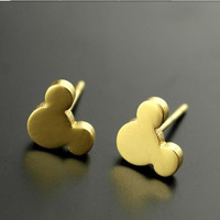 Micky Mouse Stud Earrings for Women