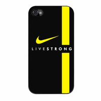 Live Strong Nike Logo Sport Bike iPhone 4s Case